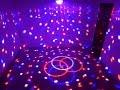 What S New LED Crystal Magic Ball Light Demo Crystal LED Magic Ball Light For Parties mp3