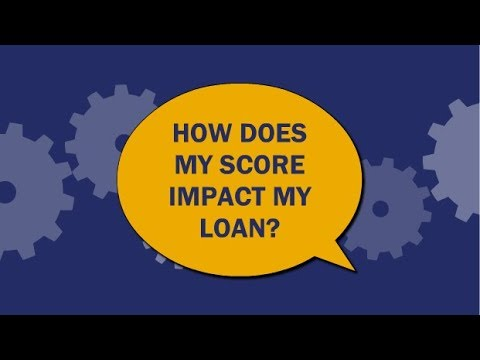How does your credit score impact your home loan?