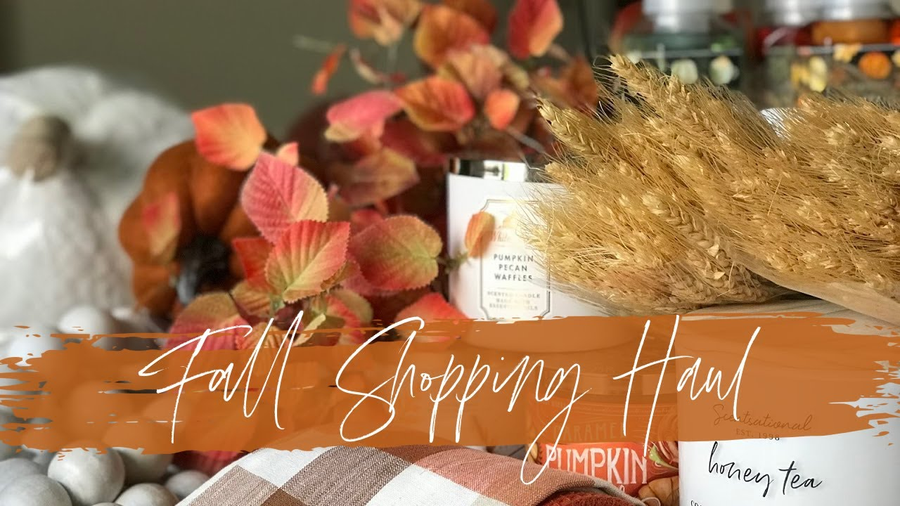 2020 Fall/Home Decor Haul | Pottery Barn, Crate & Barrel, Target, Hobby Lobby, Amazon & More