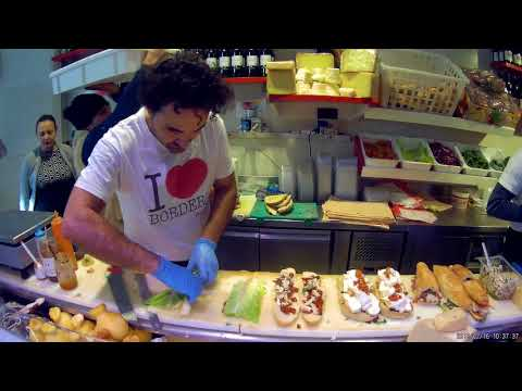 The best panini/sandwich in Syracuse , Sicily, Italy 2018
