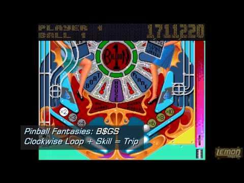 Pinball Fantasies (Amiga) - A 20Mil Playguide Challenge and Review - By LemonAmiga.com