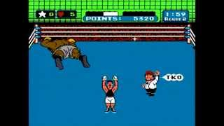 ボクシングゲームの名作、マイクタイソン・パンチアウト!のクリア動画...