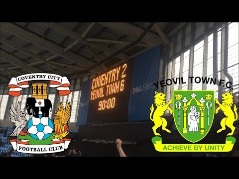 MATCHDAY EXPERIENCE Coventry City VS Yeovil Town 02/04/2018