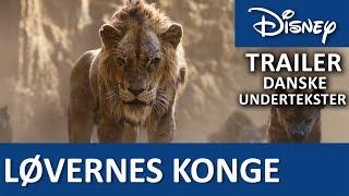 Trailer - Danske undertekster | LØVERNES KONGE - Disney Danmark