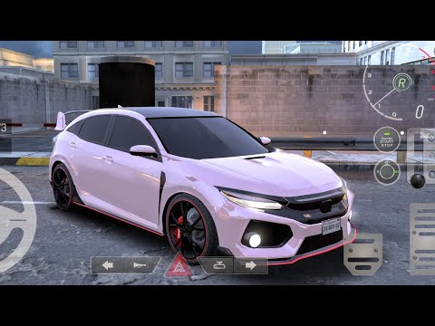 Real car parking 2 - Modified Honda Civic Car parking games android gameplay #1 |Driving School 2020
