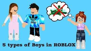 5 Arten von Jungen in ROBLOX