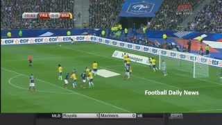 France vs Brazil  2015 FULL MATCH 26/03/2015