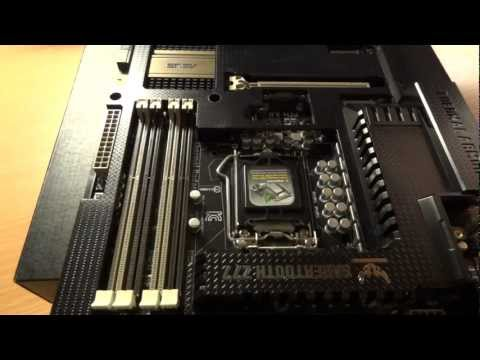 A REJECTED RMA Asus Sabertooth Z77 motherboard - By TotallydubbedHD