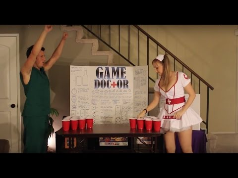 How To Play Beer Pong By The Doctor Drinking