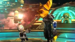 Ratchet & Clank Atrapados en el Tiempo Intermedio Final (Muerte Nefarius y se va Clank) Español HD