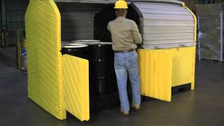 Outdoor Spill Containment - Ultra-Hard Top P8 - UltraTech International, Inc. 800.353.1611   UltraTech International, Inc.