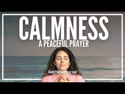 Prayer For Calmness - Let God's Peace Surround You