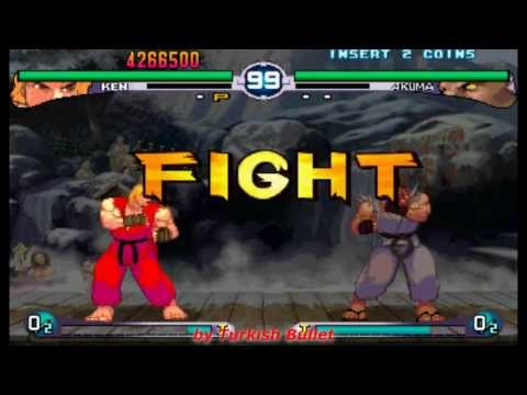 Street Fighter III: 2nd Impact - Giant Attack (Arcade) - (Longplay - Ken Masters | Hard Difficulty)