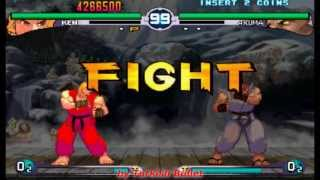 Street Fighter III: 2nd Impact - Giant Attack (Arcade) - (Ken Masters | Hard Difficulty)