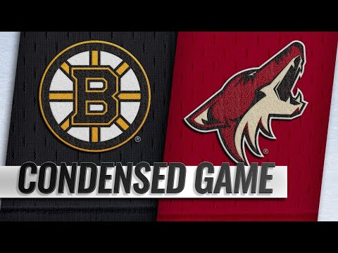 11/17/18 Condensed Game: Bruins @ Coyotes