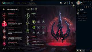 My New Ahri Runes S9 + Explanation with voice