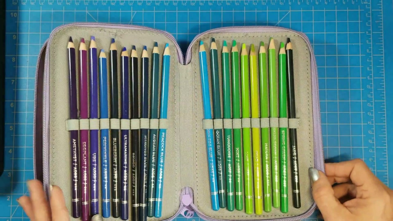 Arteza Colored Pencils & Real Brush Pens - My First ...