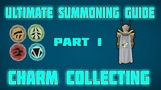 RuneScape: Ultimate RuneScape Summoning Guide: Part 1: RuneScape Charm Collecting