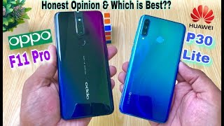 Oppo F11 Pro vs Huawei P30 Lite - Speed Test, Camera Test & Full Comparison [Urdu&Hindi]