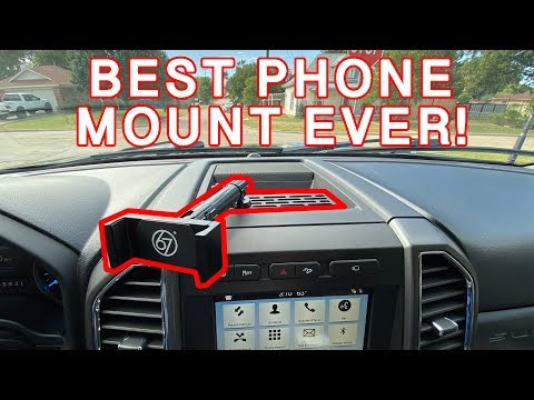 MUST HAVE PHONE MOUNT FOR YOUR 2017-2019 F-250!!!