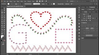 How to Repeat a Shape Along Any Path in Adobe Illustrator