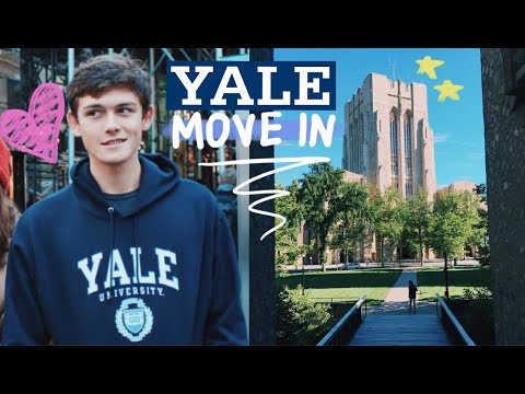 YALE UNIVERSITY COLLEGE MOVE IN DAY!