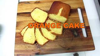 ORANGE CAKE   easy delicious recipe