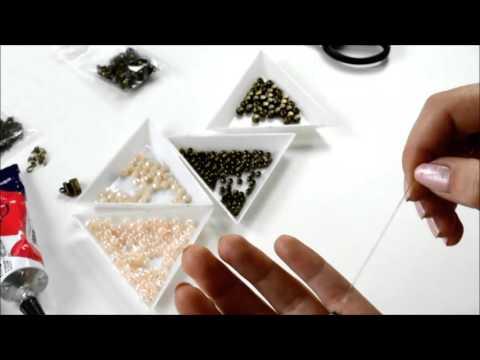 DIY Boho Perlenarmband selber machen – Schmuck basteln für Anfänger