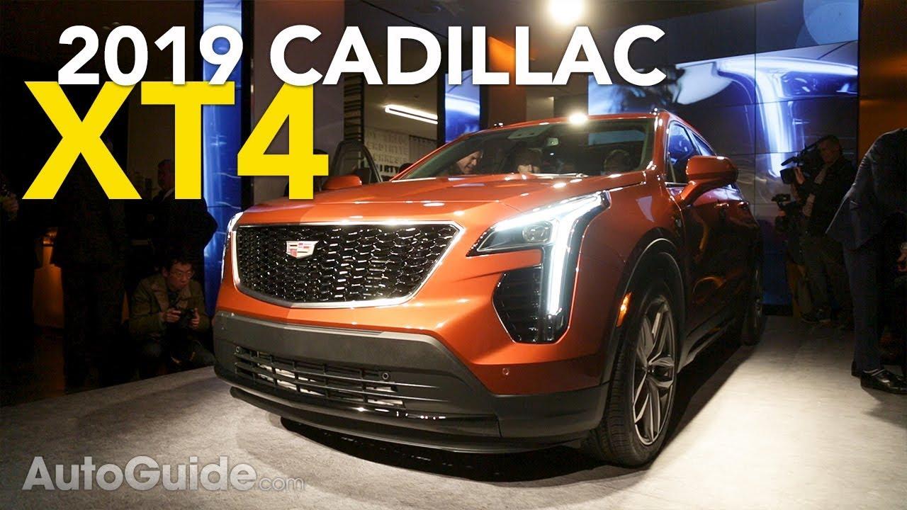 2019 Cadillac Xt4 Debuts 4 Things You Should Know 2018 New York