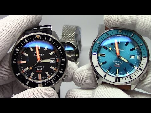 SqualeMatic Swiss Automatic 600 Meter Diver Premier