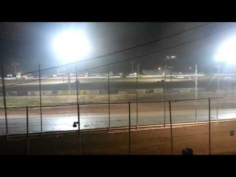 Abilene speedway imca stock class A main part 1