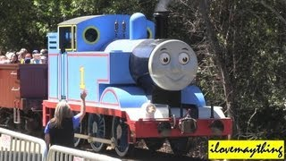 Riding A Real Thomas The Tank Engine Train Experience Highlights