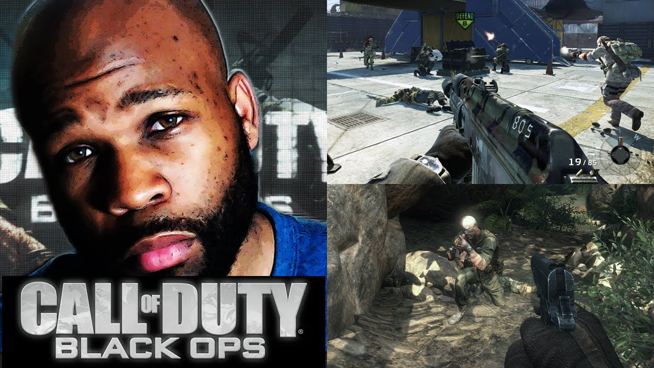 black ops 1 w/ face cam - i ain't no bitch! (black ops 1 gameplay