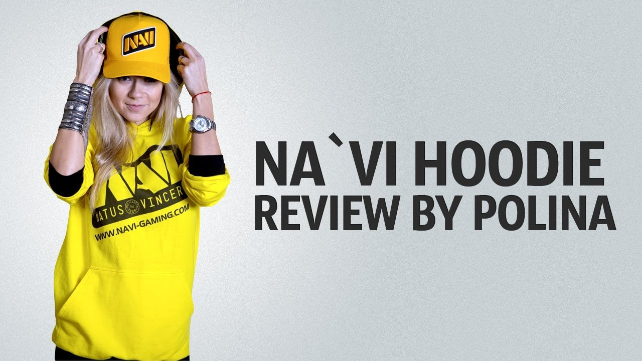 NaVi Hoodie Review By Polina With English Subtitles