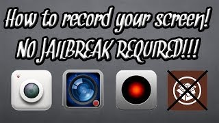 no jailbreak how to record your ipod iphone ipad s screen ios 6