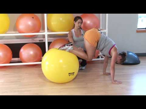 Exercise Ball Abs Workout