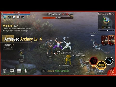Nangkep Raptor dan Hunting Stegosaurus! | Durango - Indonesia | Android Sanbox MMORPG