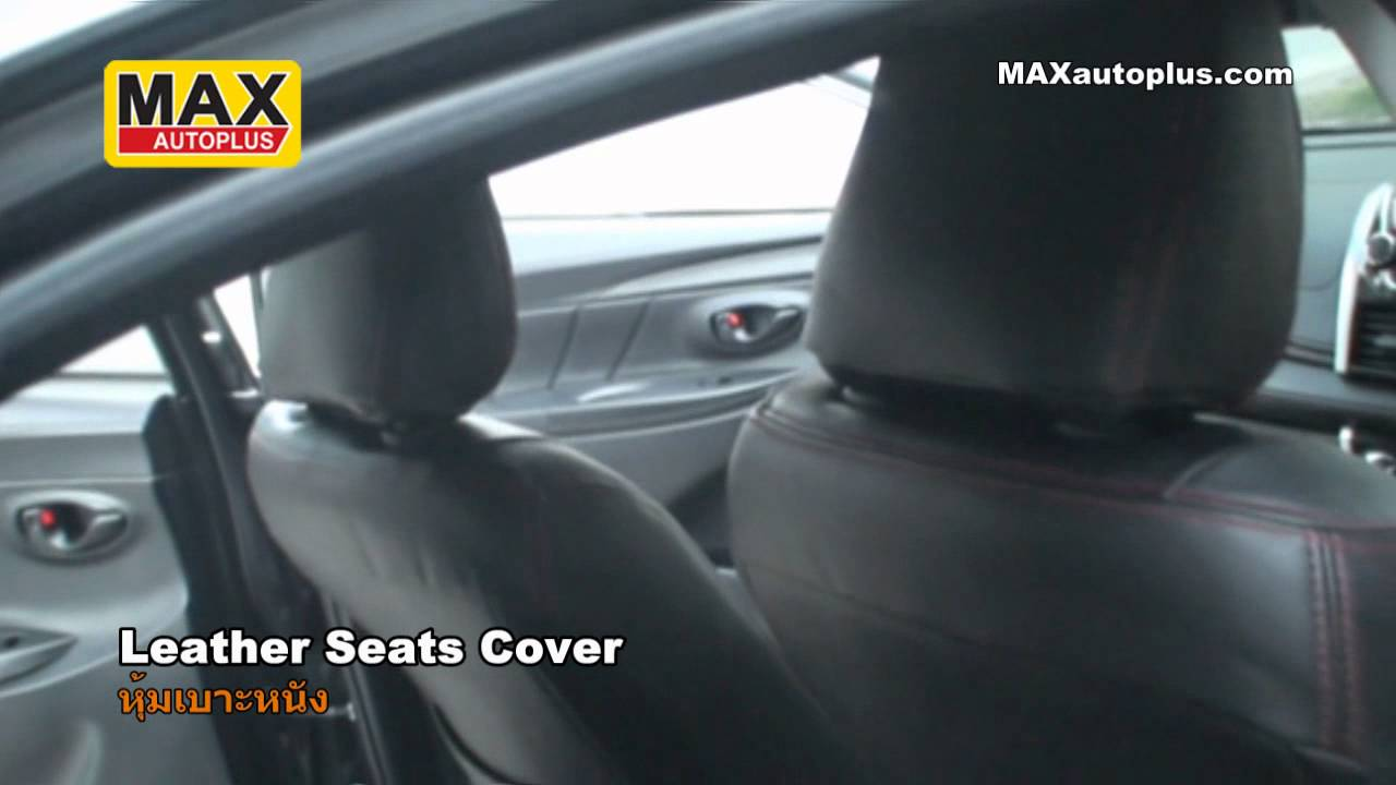 Toyota All New Vios 2013 Leather Seats Cover Youtube