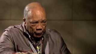 Quincy Jones on his mother