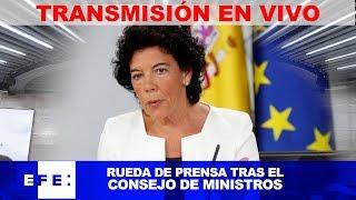 🔴📡 #ENVIVO |Consejo de Ministros thumbnail