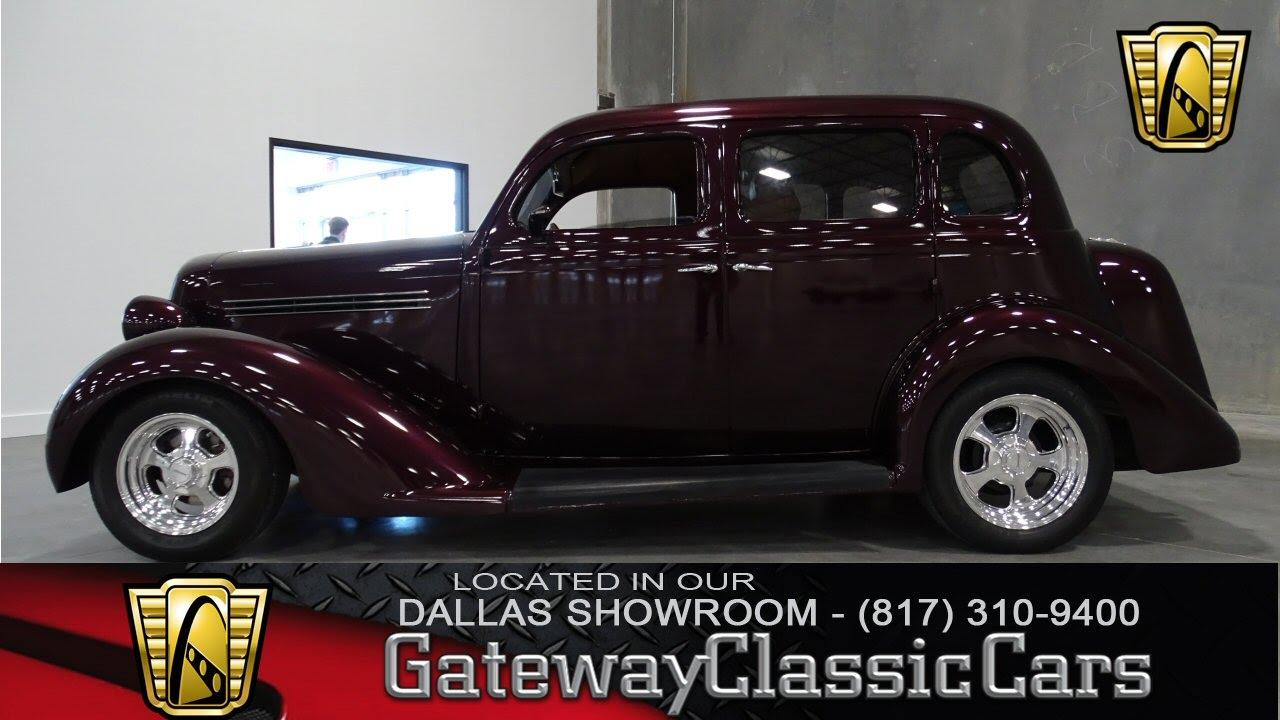 1935 Plymouth Humpback Sedan Stock #11 Gateway Classic Cars Dallas ...