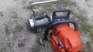 chainsaw winch DIY