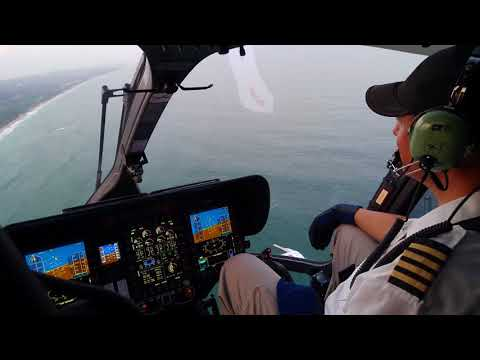 Acher Aviation Airbus H145 Delivery and Cockpit Flight in 4K