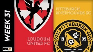 Loudoun United FC Vs. Pittsburgh Riverhounds SC October 1 2019