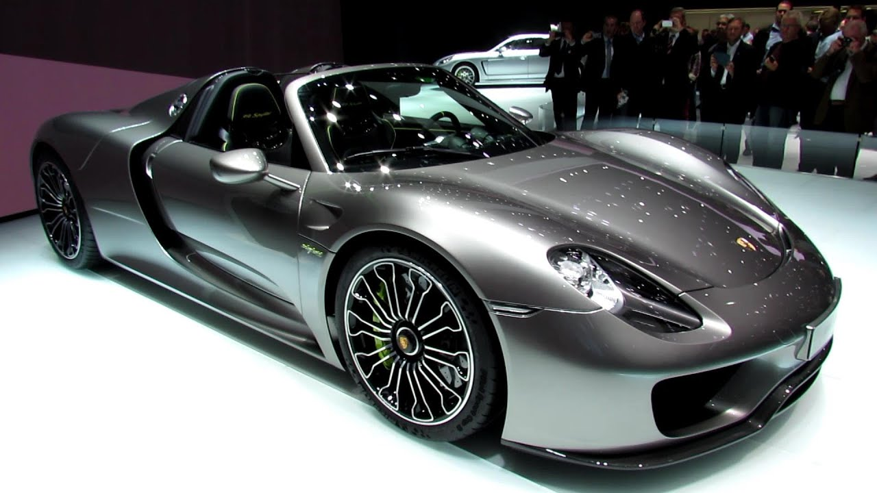 2014 porsche 918 spyder exterior and interior walkaround 2013 frankfurt motor show youtube
