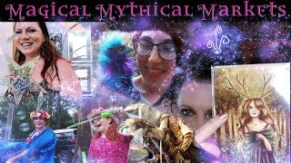 Magical Mythical Markets - Fantasy Craft Fair Haul and Vlog