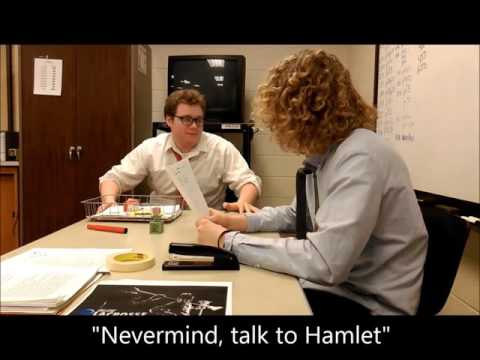 Hamlet:  The Office Version / Medina HS