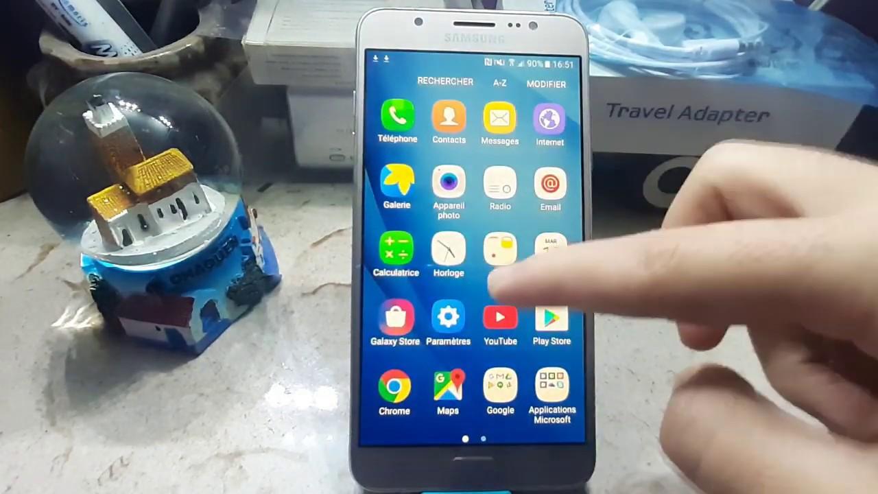 طريقة حذف حساب جوجل من هاتف Bypass Frp Samsung J710gn J7 6