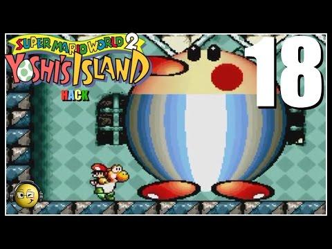 Let's Play SMW2+2 (Yoshi's Island Hack) Part 18: Volcanic Panic