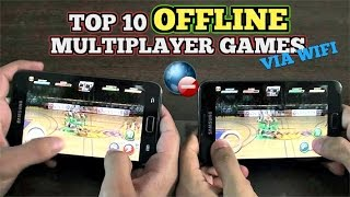 Top 10 OFFLINE multiplayer games for Android via WiFi LOCAL (NO INTERNET)